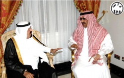 The Custodian of the Two holy Mosque & Prince Mohammed Bin Nayef