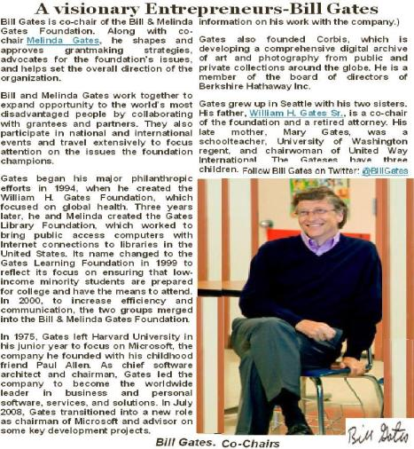 Bill Gates Letters